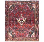 Link to 3' 8 x 4' 6 Hamedan Persian Rug