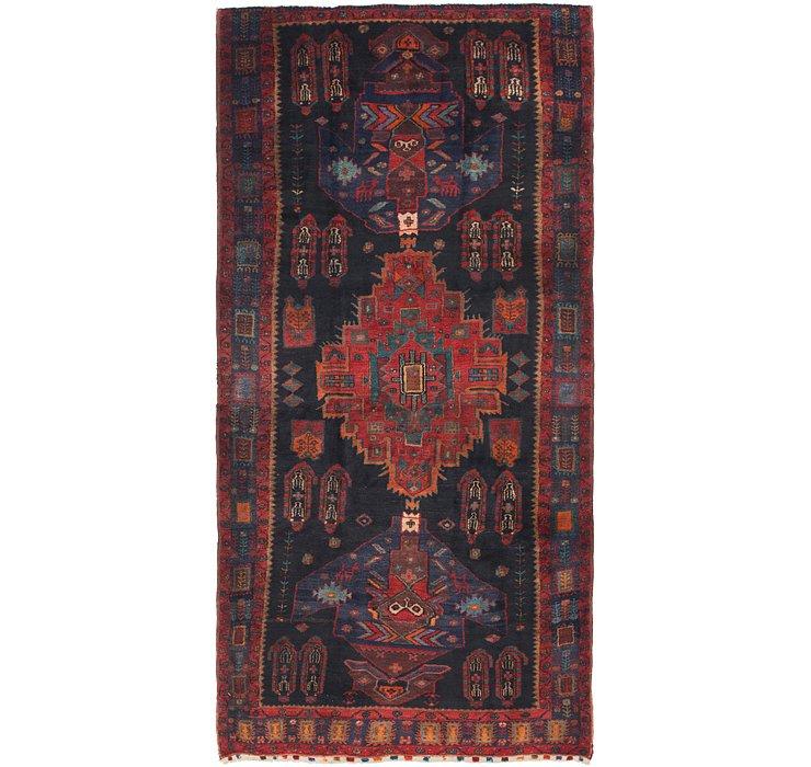5' x 10' 3 Sirjan Persian Runner Rug