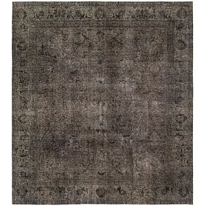 HandKnotted 9' 5 x 10' 10 Ultra Vintage Persian Rug