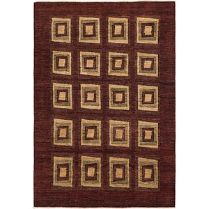 Link to 6' 2 x 9' Kashkuli Gabbeh Rug item page
