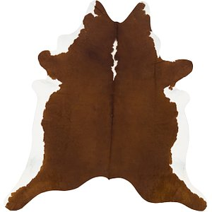 Link to 6' 8 x 7' 2 Cowhide Square Rug item page