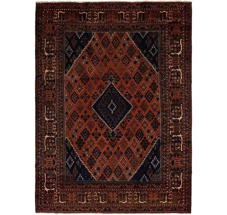 282cm x 395cm Joshaghan Persian Rug