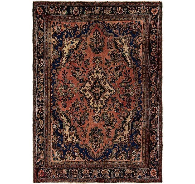 6' 6 x 9' 2 Hamedan Persian Rug