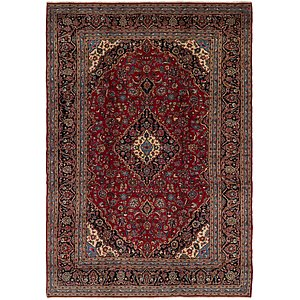 Link to 9' 8 x 13' 9 Kashan Persian Rug item page