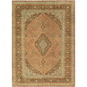 8' 2 x 11' 6 Kashan Persian Rug
