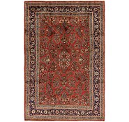 Link to 7' 7 x 11' 6 Sarough Persian Rug