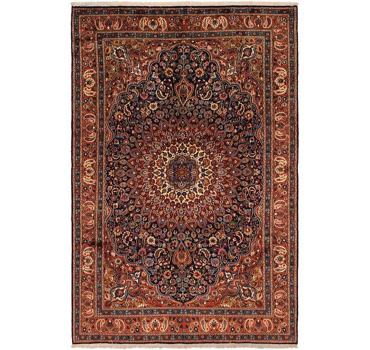 6' 7 x 10' Birjand Persian Rug