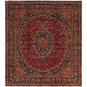 9' 6 x 10' 5 Mashad Persian Square Rug