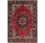 Link to 6' 6 x 9' 2 Tabriz Persian Rug