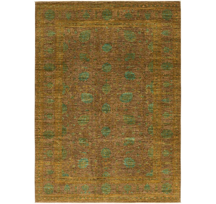 8' 2 x 11' 2 Over-Dyed Ziegler Rug