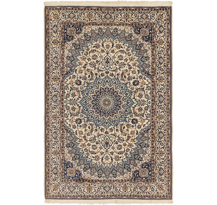 6' 9 x 10' 4 Nain Persian Rug