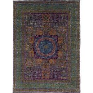 HandKnotted 9' 9 x 13' 5 Mamluk Ziegler Oriental...
