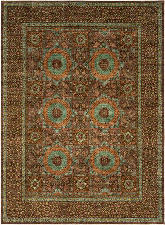 Brown 9 X 12 4 Mamluk Ziegler Oriental Rug Oriental Rugs Esalerugs
