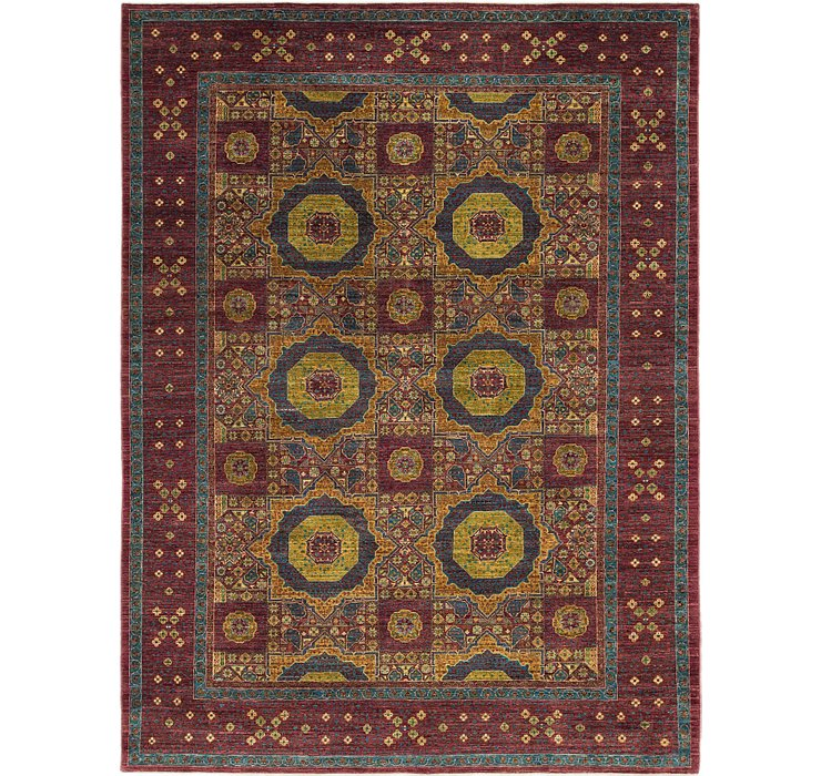 8' 4 x 11' 4 Mamluk Ziegler Oriental...