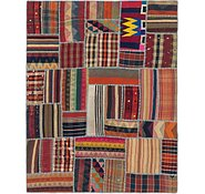 Link to 5' 8 x 7' 3 Kilim Patchwork Rug