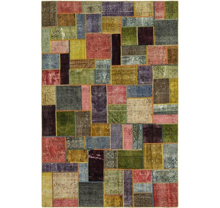 7' x 10' 6 Ultra Vintage Persian Rug