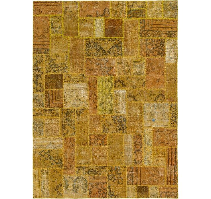 230cm x 310cm Ultra Vintage Persian Rug