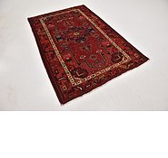 Link to 4' 6 x 6' 8 Hamedan Persian Rug