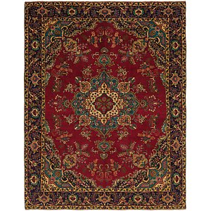 Link to 9' 7 x 12' 7 Tabriz Persian Rug item page