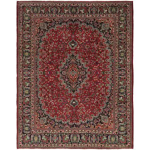Link to 10' x 12' 6 Mashad Persian Rug item page