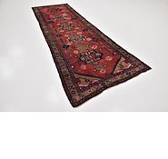 Link to 3' 7 x 10' 5 Hamedan Persian Runner Rug