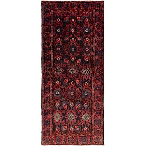 Link to 112cm x 255cm Shiraz Persian Runner Rug item page