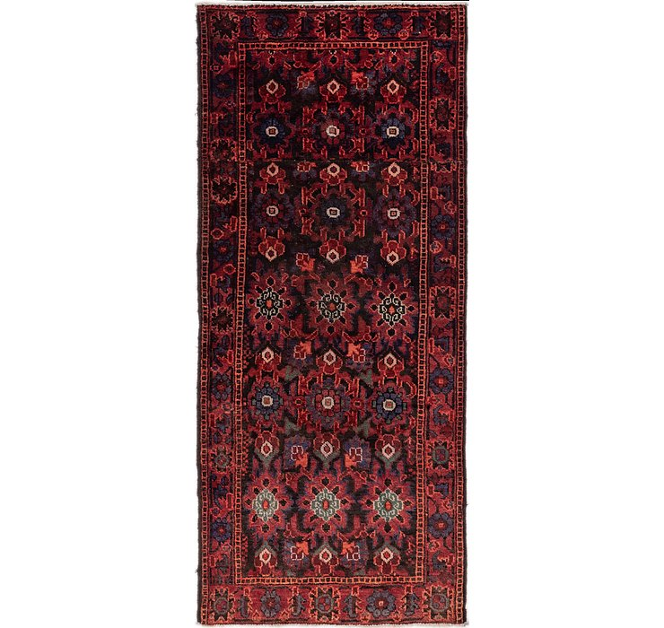 3' 8 x 8' 4 Shiraz Persian Runner Rug