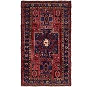 Link to 3' 9 x 6' 5 Hamedan Persian Rug