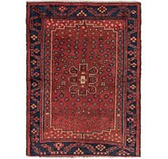 Link to 4' 3 x 5' 9 Hamedan Persian Rug