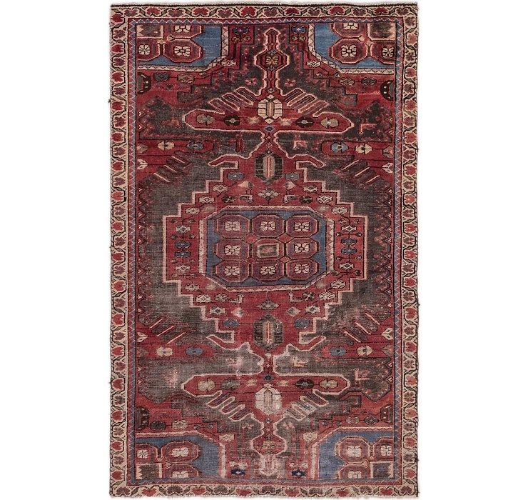 3' 10 x 6' 3 Hamedan Persian Rug