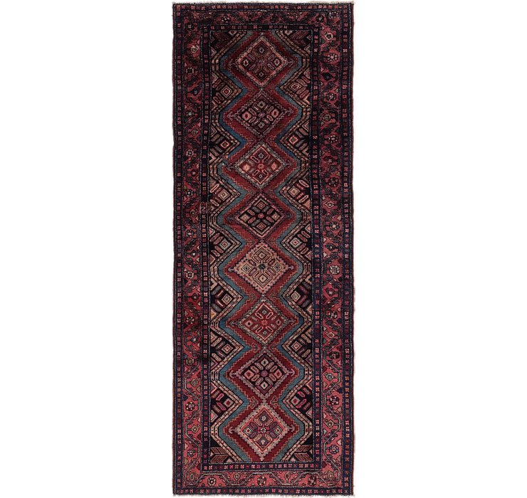 3' 10 x 10' 3 Chenar Persian Runner Rug