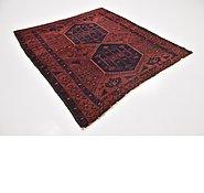 Link to 5' 6 x 5' 9 Shiraz Persian Square Rug