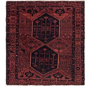 Link to 5' 6 x 5' 9 Shiraz Persian Square Rug