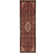Link to 2' 10 x 9' 2 Hossainabad Persian Runner Rug