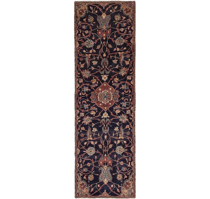 3' x 9' 9 Mahal Persian Runner Rug
