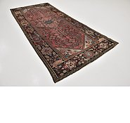 Link to 4' 6 x 10' Hossainabad Persian Runner Rug
