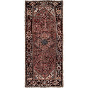 Link to 4' 6 x 10' Hossainabad Persian Ru... item page