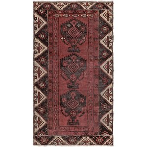 HandKnotted 3' 6 x 6' 5 Ferdos Persian Rug