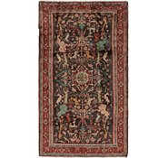 Link to 4' 4 x 7' 10 Hamedan Persian Runner Rug