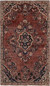 Link to 3' 6 x 6' Mahal Persian Rug item page