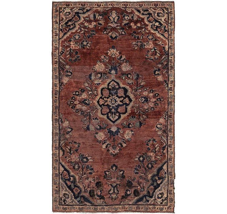 107cm x 183cm Mahal Persian Rug