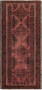 4' 3 x 9' 5 Shiraz Persian Runner Rug
