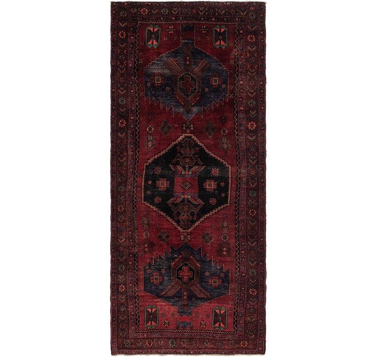 4' 4 x 10' 4 Sirjan Persian Runner Rug