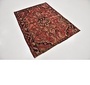 Link to 4' 3 x 5' 7 Hamedan Persian Rug