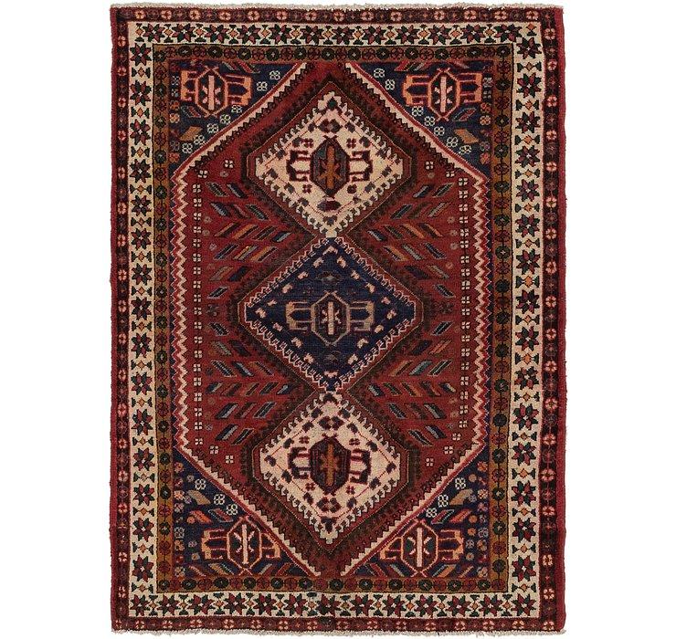 4' 8 x 6' 8 Shiraz Persian Rug