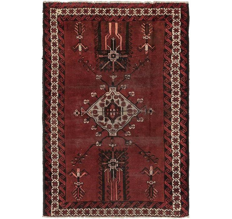 4' x 6' 5 Ferdos Persian Rug