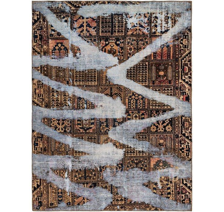 6' 7 x 8' 7 Ultra Vintage Persian Rug
