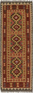Link to 2' 3 x 6' 5 Kilim Maymana Runner Rug item page