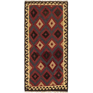 Link to 3' 4 x 7' Kilim Maymana Runner Rug item page