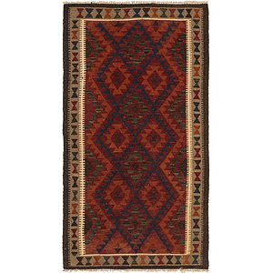 Link to 3' 6 x 6' 6 Kilim Maymana Runner Rug item page